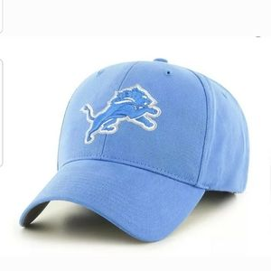 Detroit Lions Team Apparel  Blue Hat